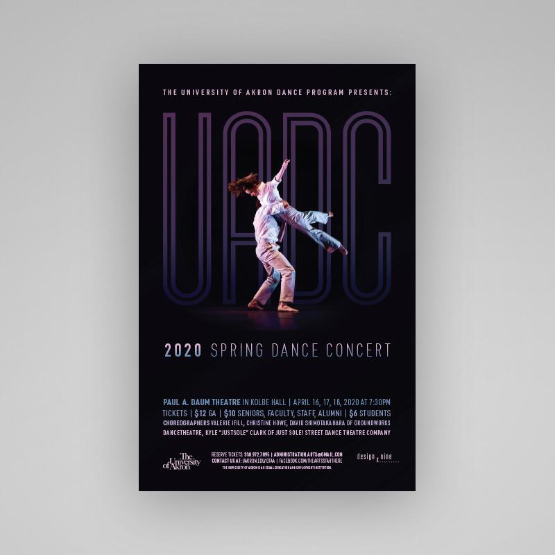 UA Dance Company Poster thumbnail